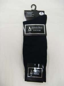 Pair Antonio Ricci Cotton Dress Socks New Colors Available.