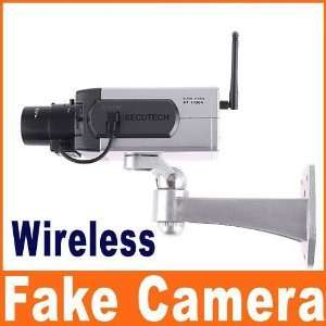 dummy motion detection security wireless fake camera