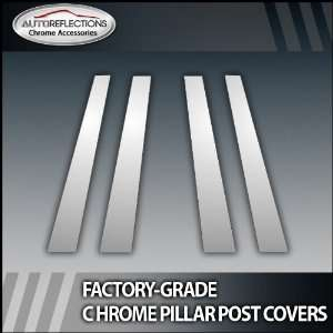 96 04 Acura Rl 4Pc Chrome Pillar Post Covers Automotive