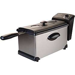 Electric PS75911 Stainless Steel 3 Liter Deep Fryer