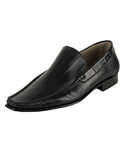 Dolce & Gabbana Mens Eel Skin Leather Loafers