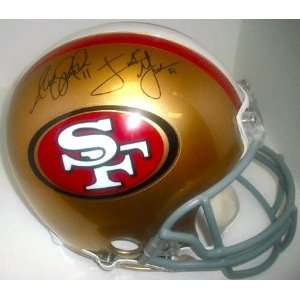 com San Francisco 49ers Smith & Gore Hand Signed Autographed Football