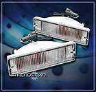 88 97 NISSAN HARDBODY PATHFINDER PICKUP BUMPER LIGHTS LAMP CHROME 92