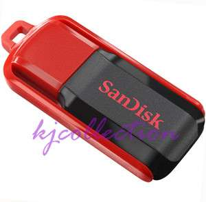 SanDisk 16GB 16G Cruzer USB Pen Flash Drive Memory Disk Flip Black