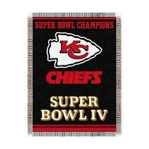 Kansas City Chiefs NFL Super Bowl Commemorative Woven