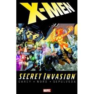 Secret Invasion X Men [Paperback] Mike Carey Books