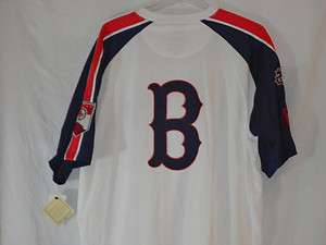 Boston Red Sox JUMBO t shirt XXXL LOADED WITH EMBROIDERY AWESOME