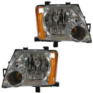 05 11 Nissan Xterra Headlights Headlamps Head Lights Lamps