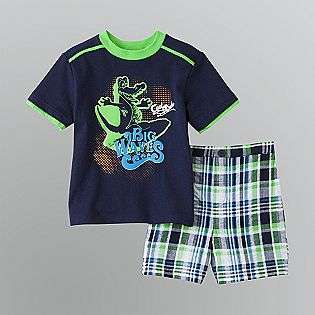 Infant and Toddler Boys Surf Shirt and Shorts Set  Al & Ray Baby Baby