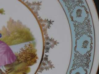 Royal Vienna Beehive Porcelain Portrait Plate Carlsbad