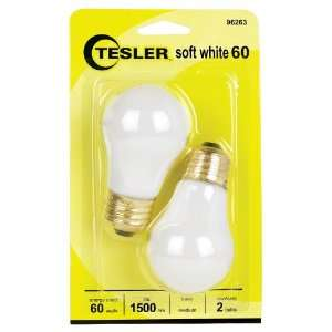 60 Watt 2 Pack Soft White Ceiling Fan Light Bulbs