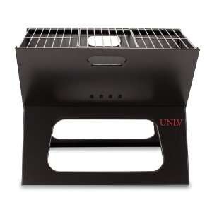 Grill With A Slim Line Design/Black Unlv (Digital Print) Patio, Lawn
