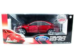 NEW GREENLIGHT 2010 FORD TAURUS SHO RED 1/24 Diecast