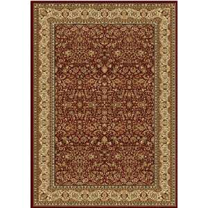 200 Polypropylene 7 Feet 10 Inch by 10 Feet 2 Inch Area Rug, Red Home