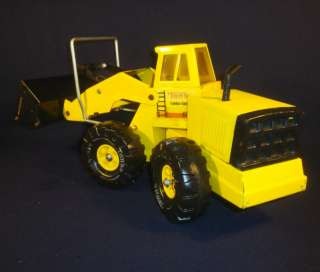 Tonka Front End Loader XMB 975 Turbo Diesel Pressed Steel Truck 80s