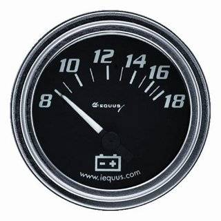 Equus 7234 Oil Pressure Gauge   Black Automotive