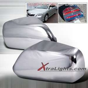 07 09 Toyota Camry Side Mirror Covers   Chrome (pair