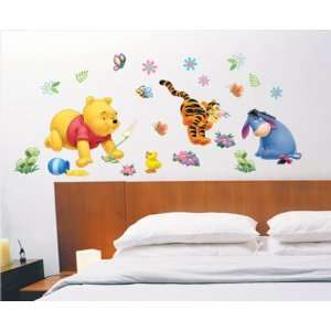 Winnie The Pooh Tigger Collection Wall Sticker Decal for Baby Nursery