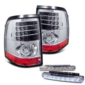 02 05 Ford Explorer LED Tail Lights + LED Bumper Fog Set Automotive
