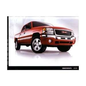 2006 GMC SIERRA Sales Brochure Literature Book Piece