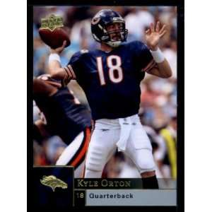 Kyle Orton   Bears   2009 Upper Deck NFL Football Trading