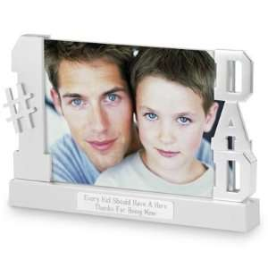 Personalized Dad Float Picture Frame Gift