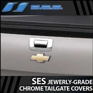2007 2012 Chevy Silverado SES Chrome Tailgate Handle Cover