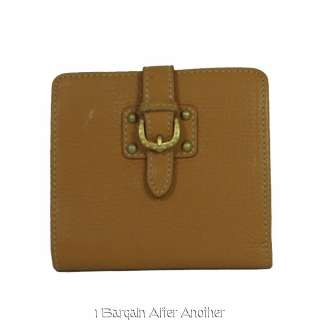 & Bourke Ladies Tan Leather Credit Card Wallet 799344238339