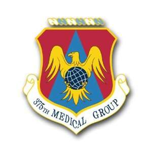 Force 375th Medical Group Decal Sticker 3.8 6 Pack