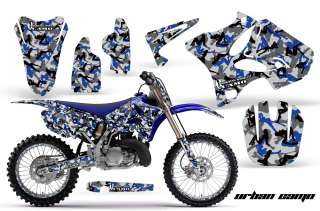 AMR RACING OFF ROAD MOTOCROSS GRAPHIC DECAL MX KIT YAMAHA YZ 125/250