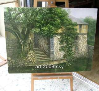 Original Oil painting landscape art on canvas 30x40