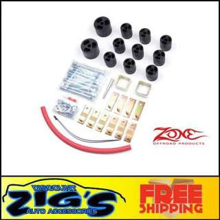 Zone Offroad 3 Body Lift Kit 87 95 YJ Wrangler Auto