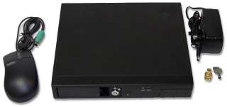 Channel CCTV DVR with Motion Detection, Removable HDD Tray. Fit your