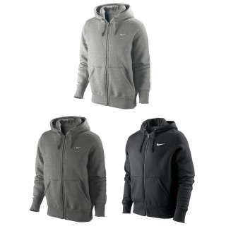 NIKE Classic Fleece Mens Full Zip Hoodie Jacket