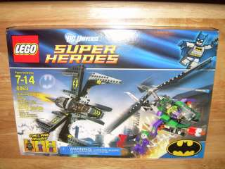 LEGO 6863 DC Universe SUPER HEROES BATMAN Batwing Battle Over Gotham