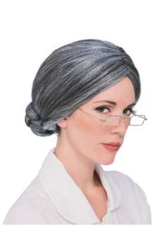 of Oz Accessories Wizard of Oz Costume Wigs Auntie Em Costume Wig