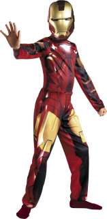 Boys Iron Man 2 Mark VI Costume   Iron Man Costumes