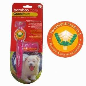 Quadbrush Ultimate Pet Toothbrush Small Dog and Cat