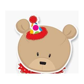 Childrens Birthday Party Invitations   Party Bear Invitation
