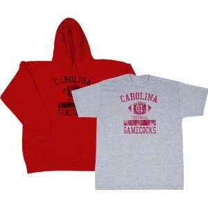 South Carolina Gamecocks Cardinal Hooded Sweatshirt/T