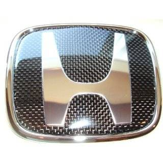 Honda Carbon Fiber Emblem Automotive