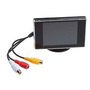 3.5 Inch TFT LCD Color Screen Rearview Monitor For Car PAL