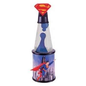 WB Superman Premiere Collection Lava Lamp Lighting