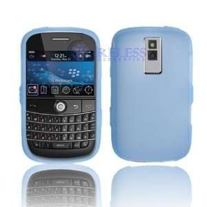 Bold 9000 Trans. Light Blue Silicon Skin Case