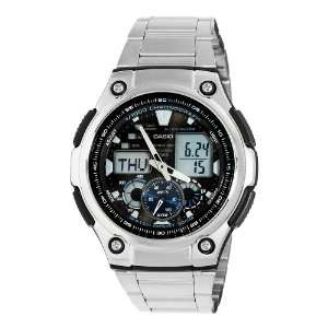 Casio Mens AQ190WD 1A Multi Task Gear Sports Watch Watches