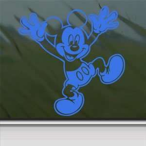 MICKEY MOUSE DISNEY Blue Decal Car Truck Window Blue