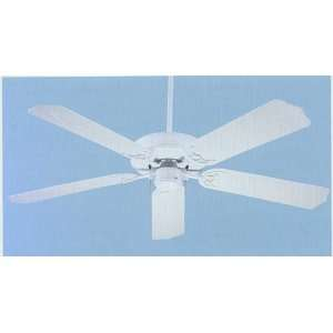 52 Inch Contractor Outdoor White Ceiling Fan