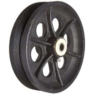 Groove Steel Wheel, 1400 lbs Load Capacity Industrial & Scientific