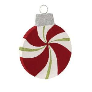 Twist Candy Glitter Christmas Ornament (178mm)