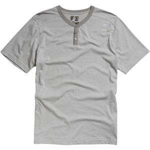 Fox Racing Reserve T Shirt   2X Large/Grey Automotive